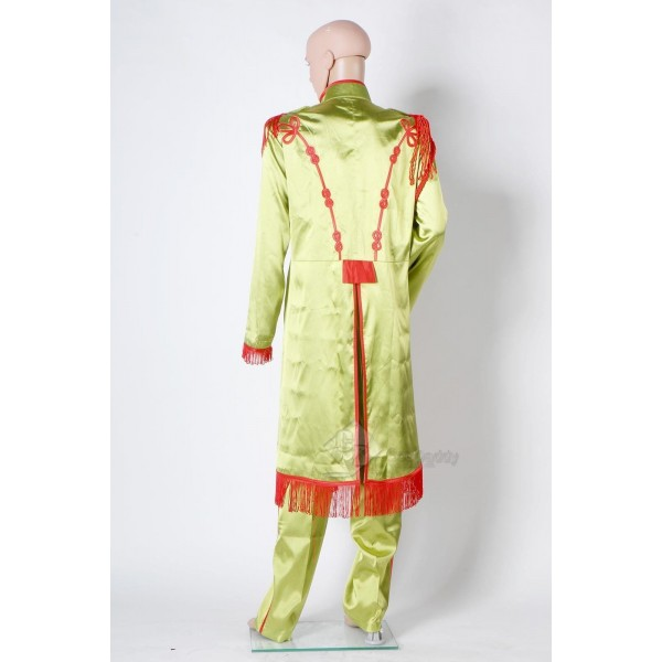 The Beatles Sgt. Pepper's Lonely Hearts Club Band John Lennon Cosplay Costume